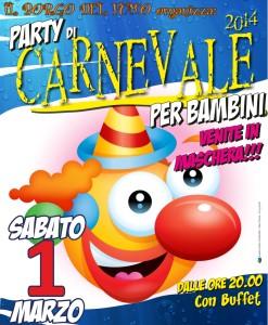Party di Carnevale Bambini