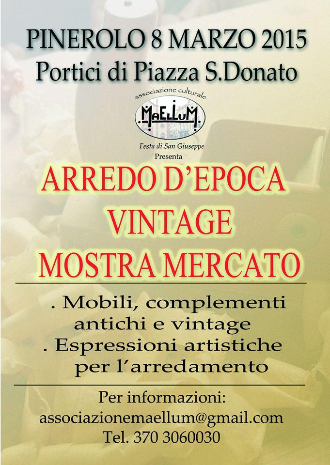 L 39 8 marzo mercatino dei mobili antichi a - Mercatino mobili antichi ...