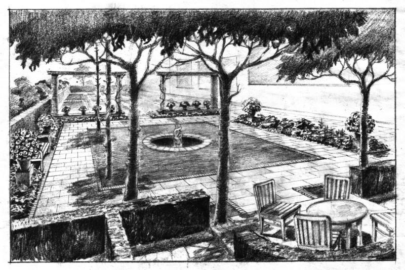 I giardini di arte del porcinai al for Pietro porcinai